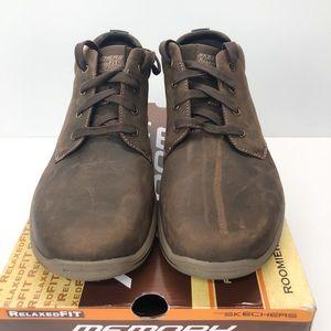 famous brand complimentary shipping exclusive range Skechers USA Harper Meldon Chukka Boot Chocolate NWT